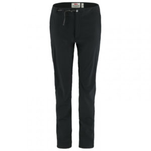 Fjällräven - Women's High Coast Trail Trousers - Trekkinghose Gr 40 - Long - Fixed Length schwarz