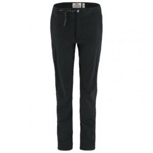 Fjällräven - Women's High Coast Trail Trousers - Trekkinghose Gr 44 - Long - Fixed Length schwarz