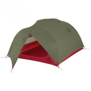 MSR - Mutha Hubba NX Tent - 3-Personen Zelt grau/oliv/rot;grau/rot