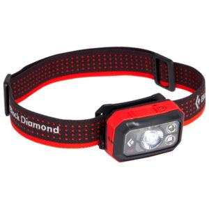Black Diamond - Storm 400 Headlamp - Stirnlampe schwarz/rot