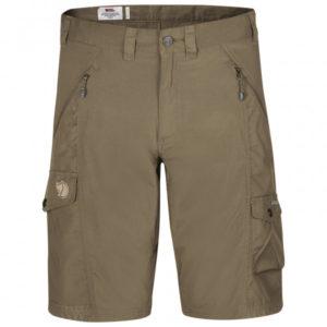 Fjällräven - Abisko Shorts - Shorts Gr 54 braun/grau/oliv
