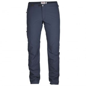 Fjällräven - Women's High Coast Trail Trousers - Trekkinghose Gr 44 - Long - Fixed Length blau/schwarz