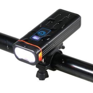 Ultrahelle Fahrradleuchten Wiederaufladbare IPX6 wasserdichte LED-Fahrradleuchten vorne Schnellwechsel-Sicherheits-Fahrradlampe MTB-Taschenlampe
