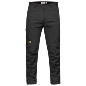 Fjällräven - Karl Pro Zip-Off Trousers - Trekkinghose Gr 44 - Regular - Raw Length schwarz
