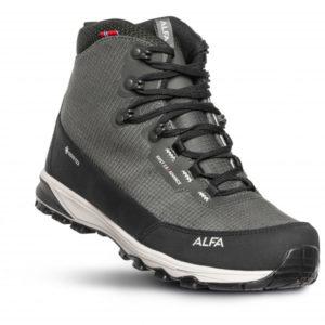 Alfa - Kvist Advance 2.0 GTX - Wanderschuhe Gr 40 grau/schwarz