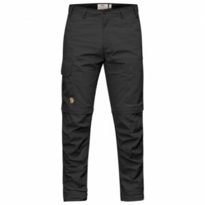 Fjällräven - Karl Pro Zip-Off Trousers - Trekkinghose Gr 56 - Regular - Raw Length schwarz