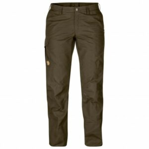 Fjällräven - Women's Karla Pro Trousers - Trekkinghose Gr 36 - Regular - Raw Length schwarz/braun