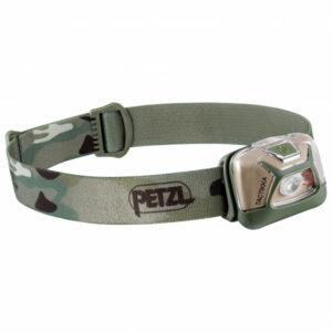 Petzl - Stirnlampe Tactikka - Stirnlampe grau/oliv