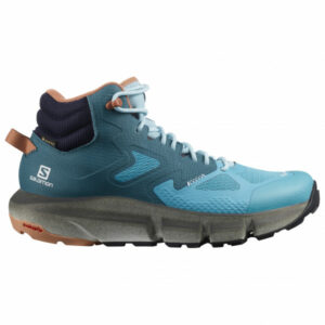 Salomon - Women's Predict Hike Mid GTX - Wanderschuhe Gr 6,5 blau/türkis