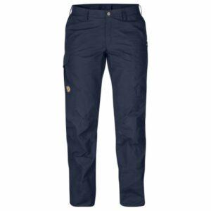Fjällräven - Women's Karla Pro Trousers - Trekkinghose Gr 40 - Regular - Raw Length schwarz