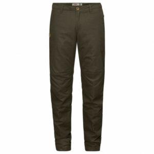 Fjällräven - Women's Sörmland Tapered Winter Trousers - Winterhose Gr 44 - Fixed Length schwarz/braun