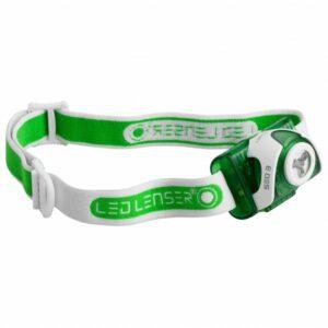 Ledlenser - SEO 3 - Stirnlampe grün/grau/oliv